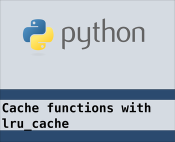 Caching expensive operations in python