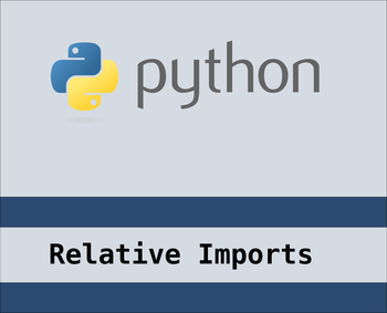 Relative imports in python